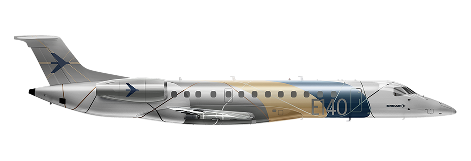 ERJ140 Side Profile